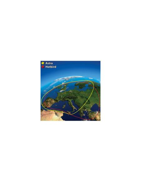 Automatinė palydovinė antena Campingman GPS / TWIN