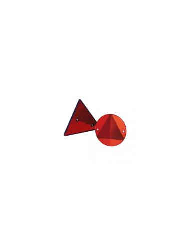 trikampės reflektorius