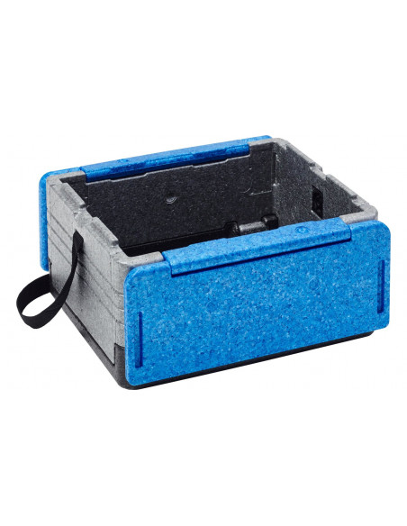 """Overath Folding Coolbox-Flip Box"" mini trispalvė mėlyna"