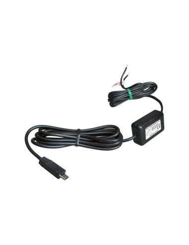 12/24 V įkrovimo kabelis prie USB
