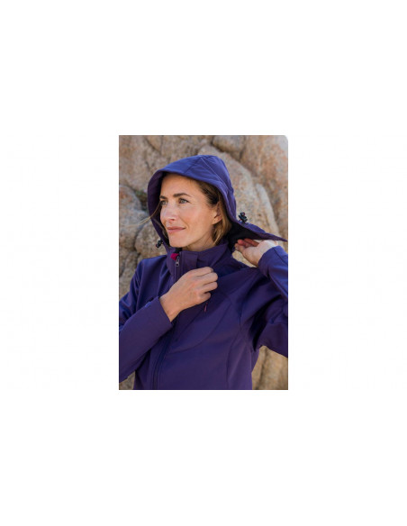 Kalnų gidas Moterų Softshell striukė Vera II