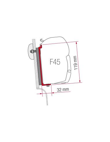 Fiamma tvirtinimo detalės tvirtinimui prie F45 sienos